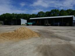 Rural contractors yards