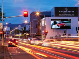 Billboards and signage